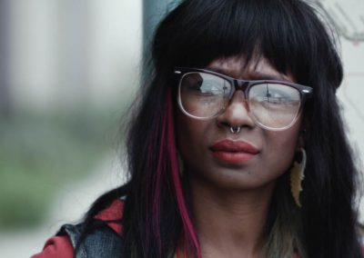"""Tanissia Sprull as """"Hipster Chick"""""""